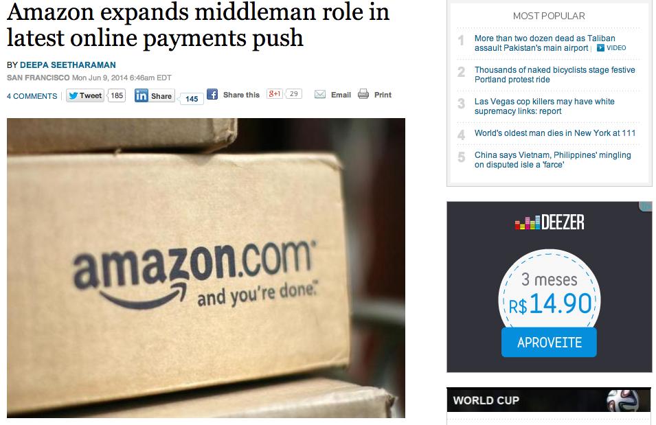 Pagamento Amazon