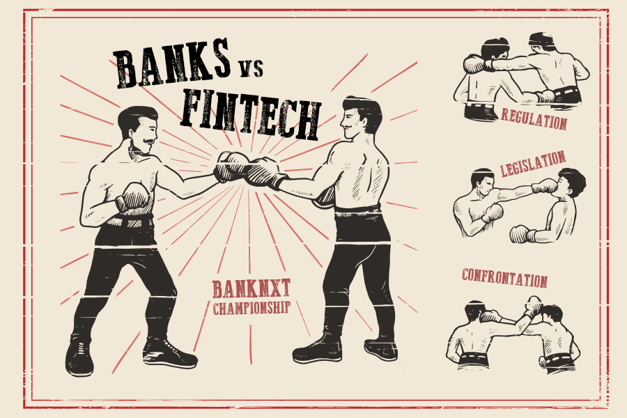 bancos fintechs