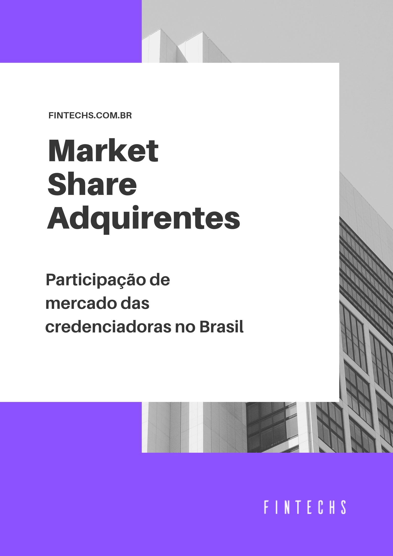 market share adquirentes cartões